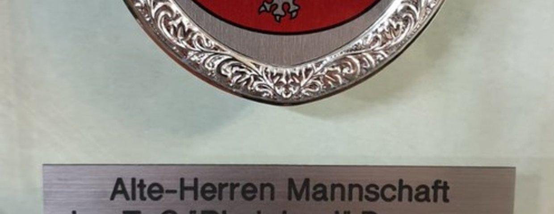Alte-Herren Fußaller Mannschaft des Jahres im Stadtsportverbund Heinsberg