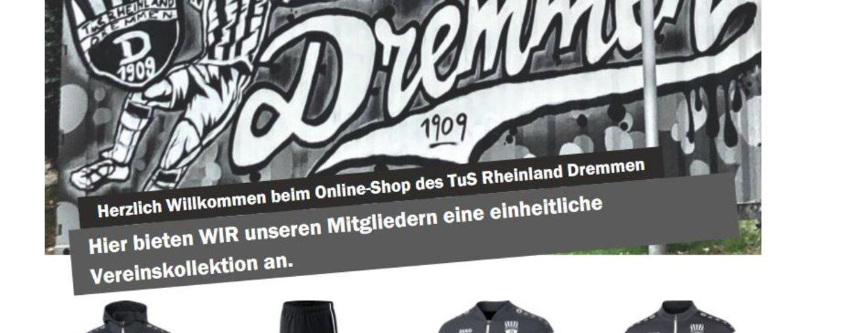 Vereinsausstattung im Online-Shop